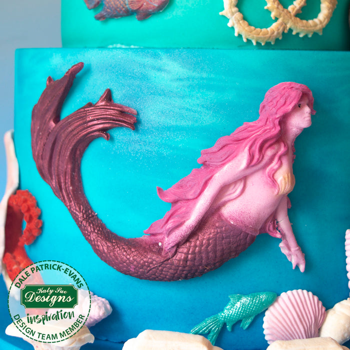 Swimming Mermaid Silicone Mould