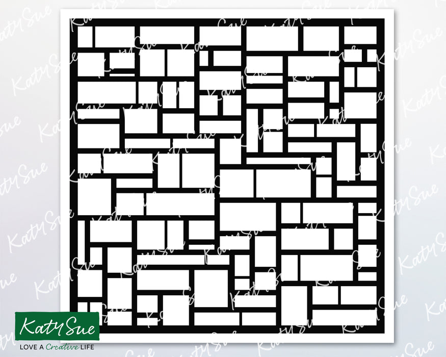 Rectangles Stencil | Digital Cutting File
