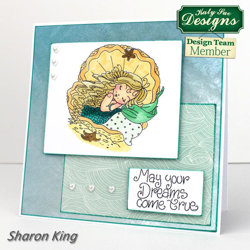 C - An idea using the Mermaid Dreams Stamps