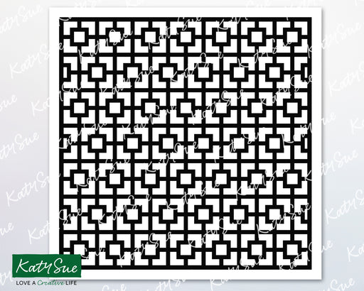 Square Trellis Stencil | Digital Cutting File