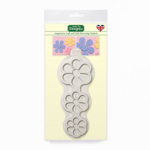 Stitched Flowers - Blossoms Silicone Mould