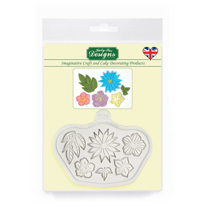 C&D - Stylised Flowers Mould