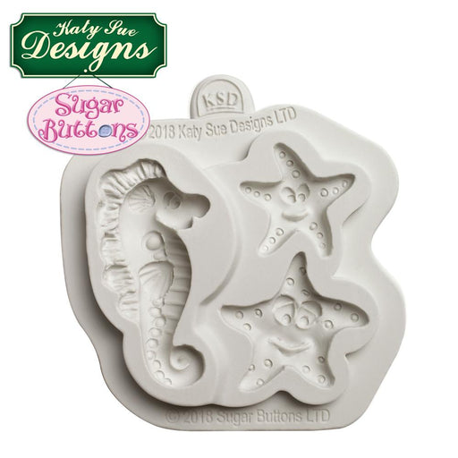 C&D - An idea using the Starfish and Seahorse mould