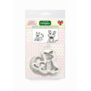 C&D - Cat Sugar Buttons Silicone Mould pack shot