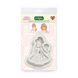 C&D - Bride Sugar Buttons Silicone Mould pack shot