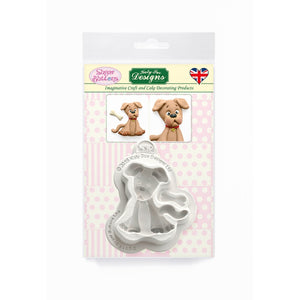 C&D - Dog Sugar Buttons Silicone Mould pack shot
