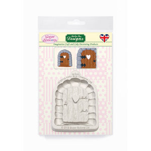 C&D - Enchanted Door Sugar Buttons Silicone Mould pack shot