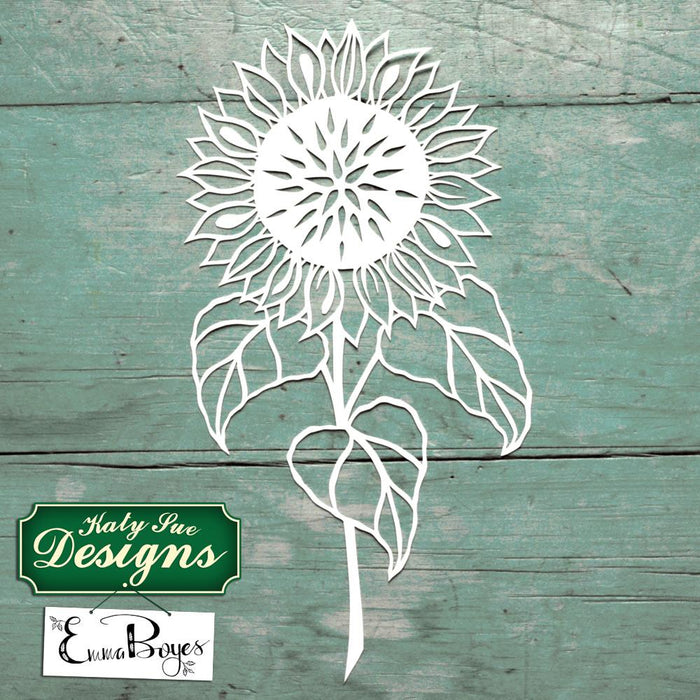 C - Paper Cut Sunflowers