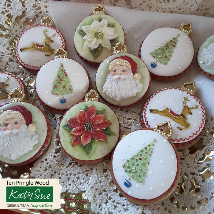 Christmas Tree Cupcake Silicone Mould