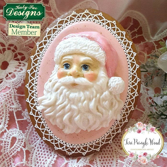 CD - Santa Head Mould
