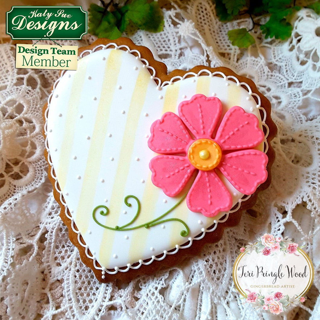 Stitched Flowers - Pretty Petals Silicone Mould