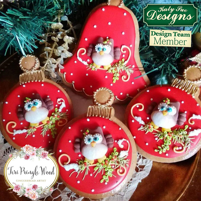 CD - An idea using the Owls Sugar Buttons Silicone Mould product