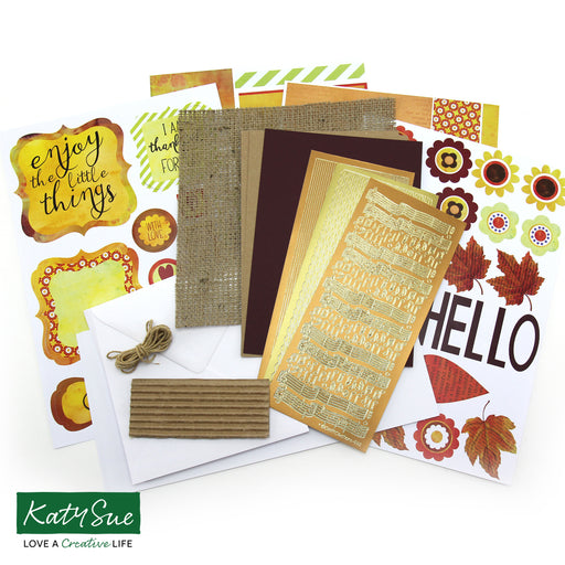 Thank You Card Making Kit