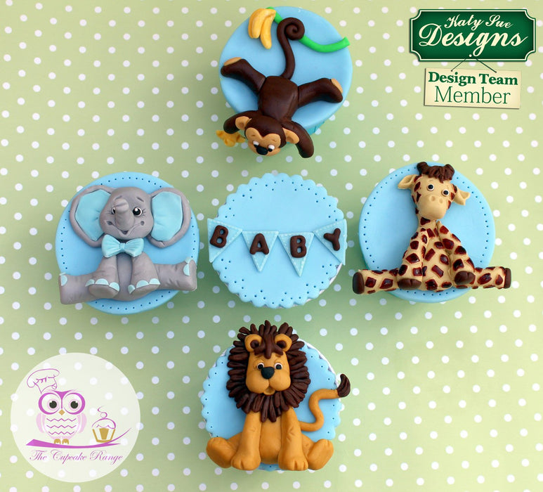 CD - Sugar Buttons Safari Moulds