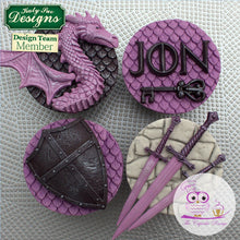 CD - Dragon Scales Cake Mould
