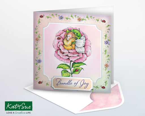 The Fairy Collection Blossom Slumber | Digital Card Making Kit