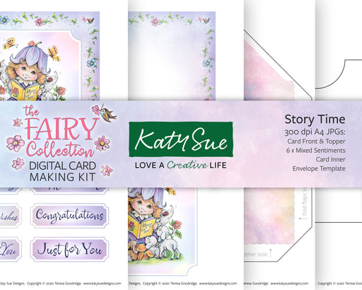 The Fairy Collection Story Time | Digital Card Making Kit