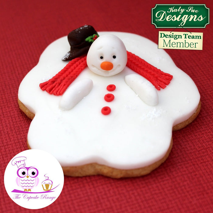 Sugar Buttons Snowman Silicone Mould