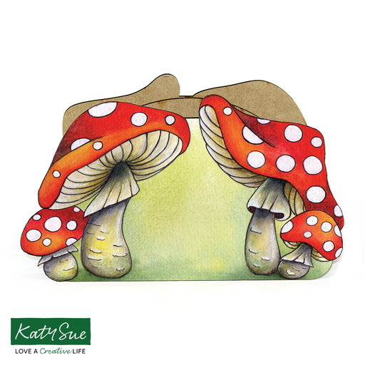 MDF Toadstool Desk Caddy Kit