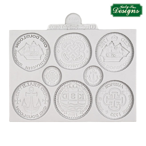 Treasure Coins Silicone Mould