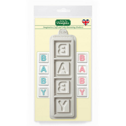 Baby Blocks Silicone Mould