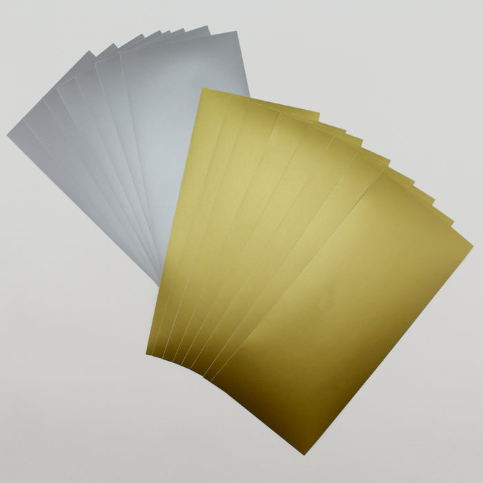 Katy Sue 24 x Vinyl Strips Gold & Silver