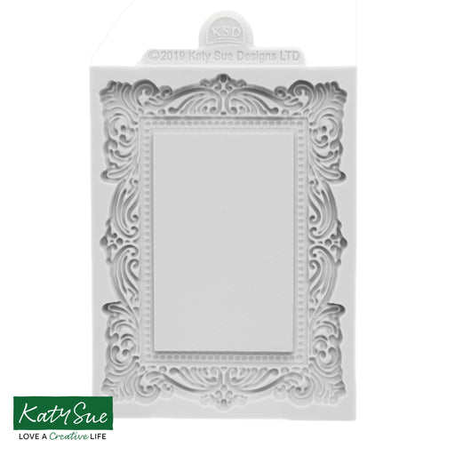 Medium Vintage Frame Silicone Mould