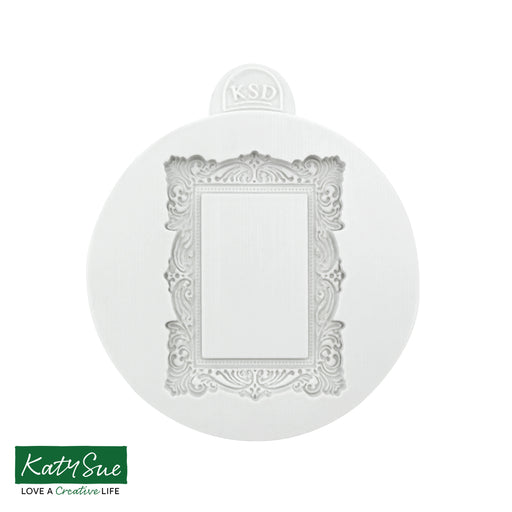 Small Vintage Frame Silicone Mould
