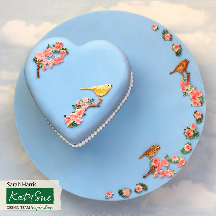 Blossoms & Birds Silicone Mould