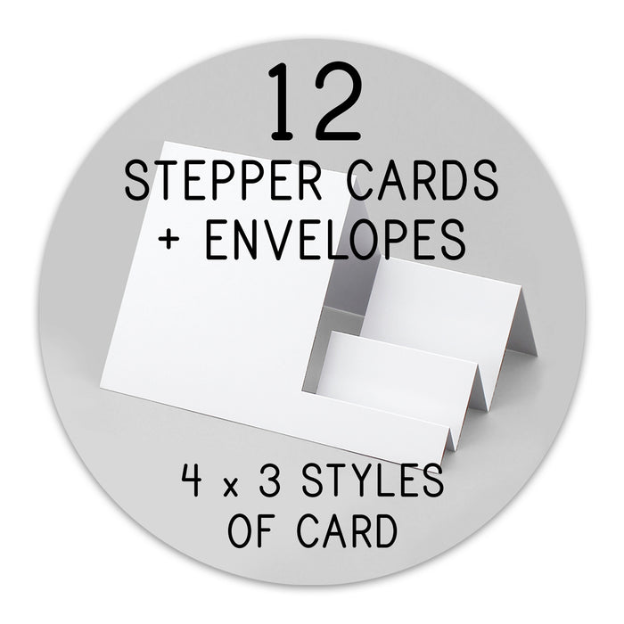 Zuzz and Friends Paper Craft Kit with Stepper Cards
