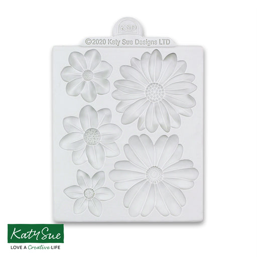 Big Blossoms Silicone Mould for Cake Decorating and Craft