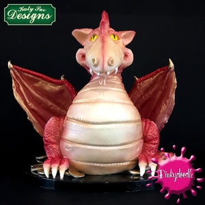 CD - Dragon dinosaur cake claw mould