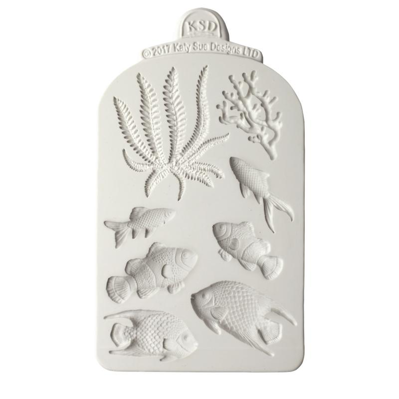 C&D - Fish, Seaweed and Coral Mould Pack Shot