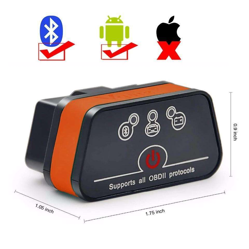 Vgate iCar2 OBD2 Bluetooth Auto Diagnostic Scanner