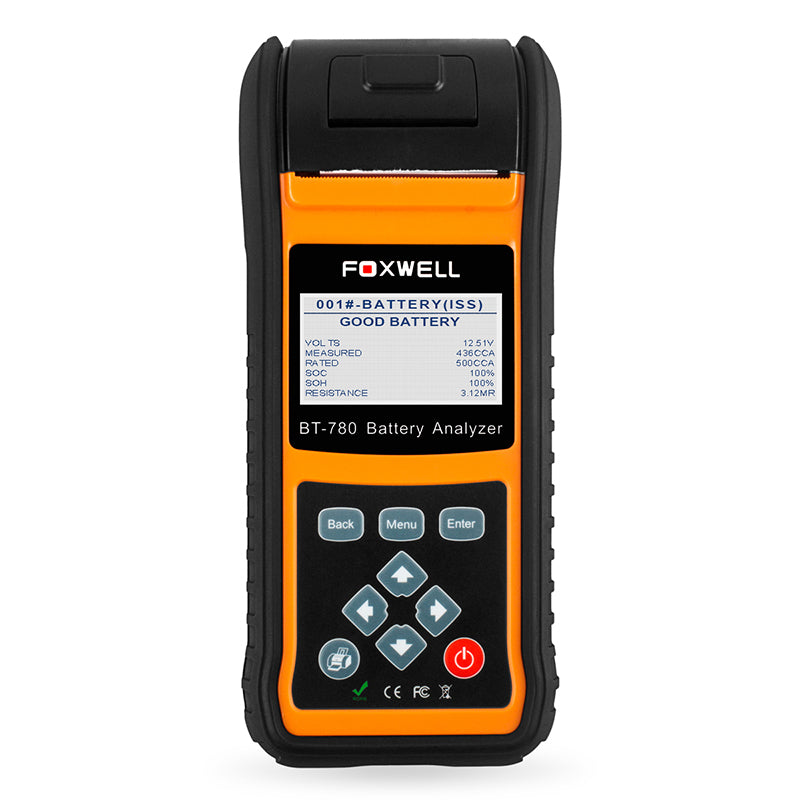 Foxwell BT780 Professional Battery Tester