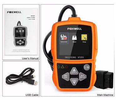 Foxwell NT201 OBD2 Vehicle Scanner