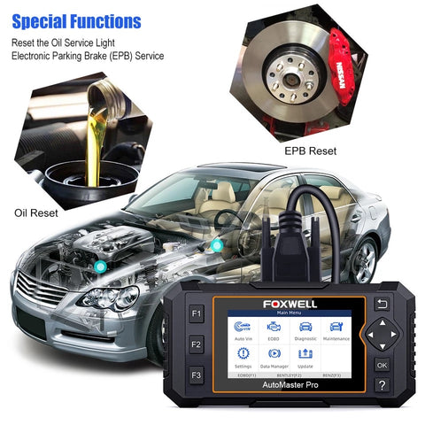 Foxwell NT624 Automaster Auto Diagnostic Tool