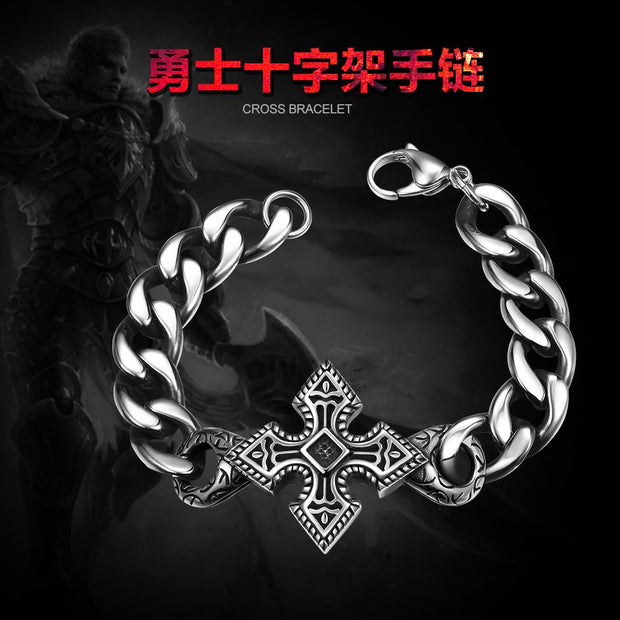 H016 Fashion 316L stainless steel bracelet for man