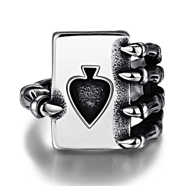 GMYR208 Unique Star celebrity men styles ring