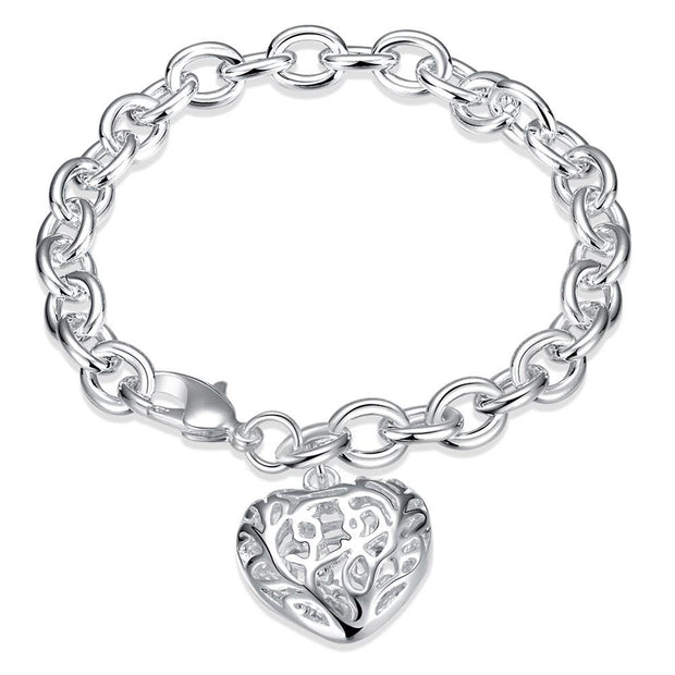 H269  Latest Women Classy Design  silver plated bracelet Factory Direct Sale