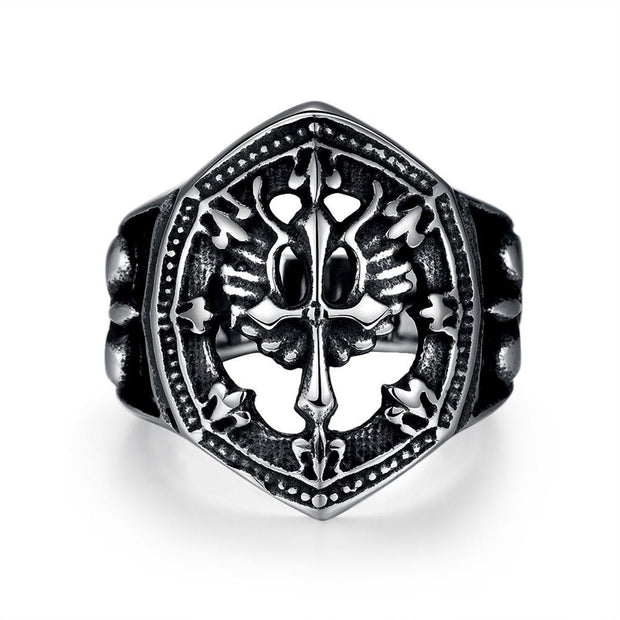 GMYR227 Unique Star celebrity men styles ring
