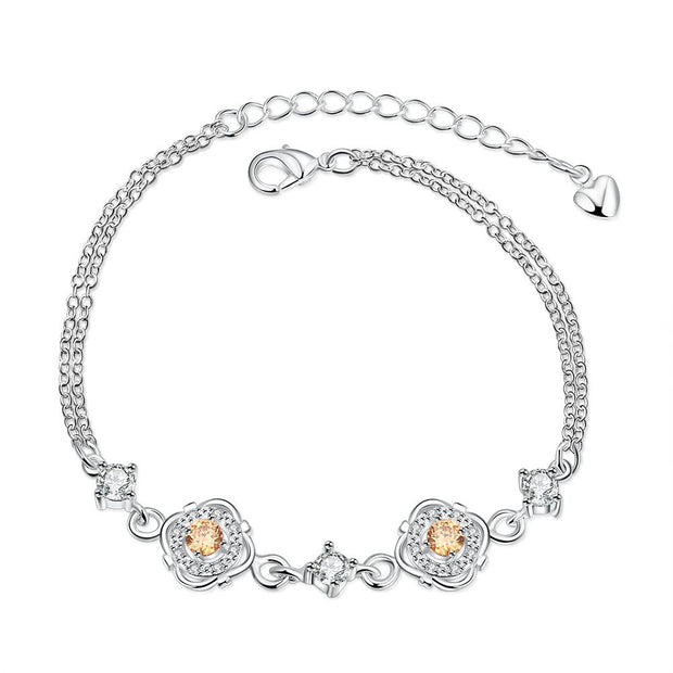H003-A Hot sales new fashion jewelry bracelet silver bracelet