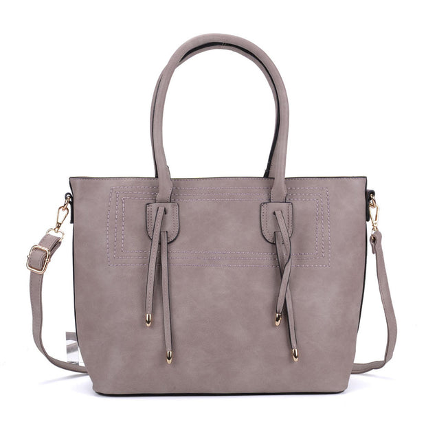 K0047 Dark Grey - New Style Women Large Tote Bag
