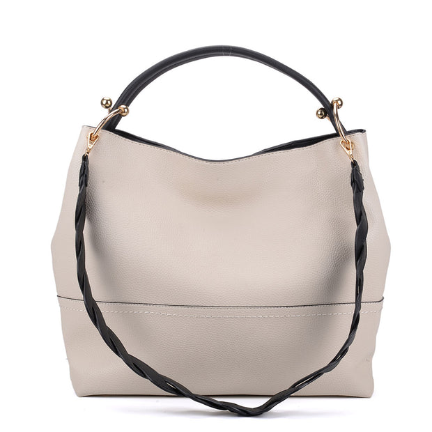K0054 Beige - Classic Shoulder Underarm bag