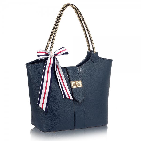LS00278 - Navy Handbag