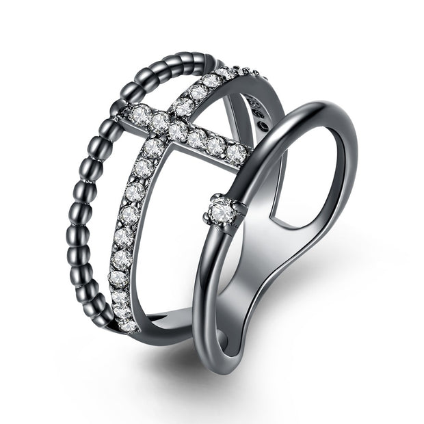 LKN18KRGPR2028 Fashion ring with creative ring