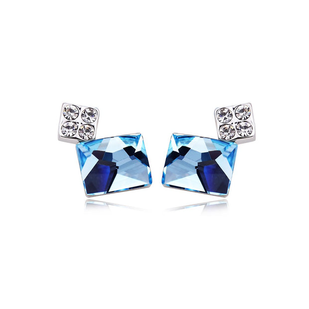 LKN18KRGPE1359 Fashion trend ear nail linglong crystal