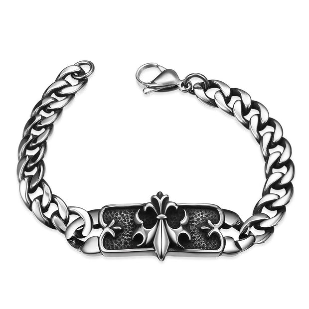 H011 Fashion 316L stainless steel bracelet for man