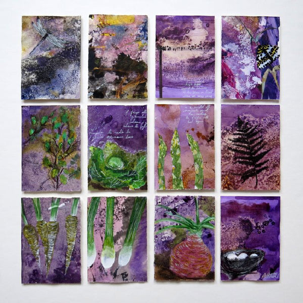 12 minis - Purple allotment