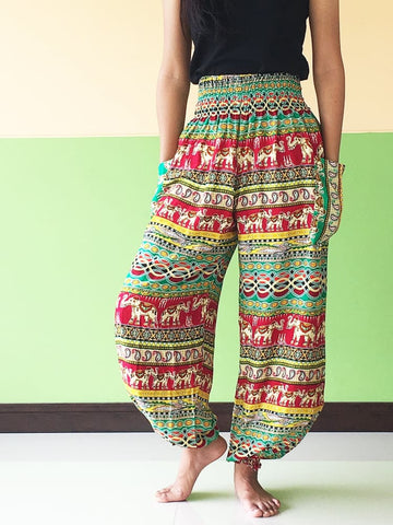 Hippie Pants Summer Trousers Women - Yoga Pants